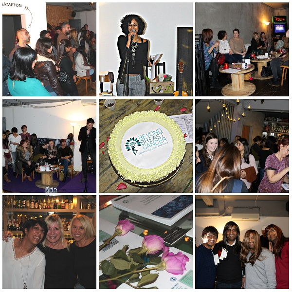 Beyond Breast Cancer's Launch Night @ Foodies.Rock