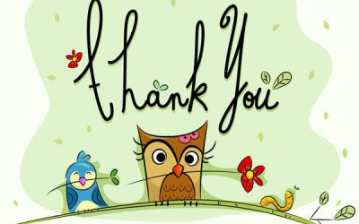Thank You. To You… And To You… And To You… And You!