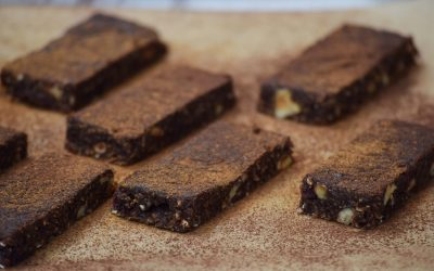 Raw Vegan Hazelnut Energy Bars Recipe